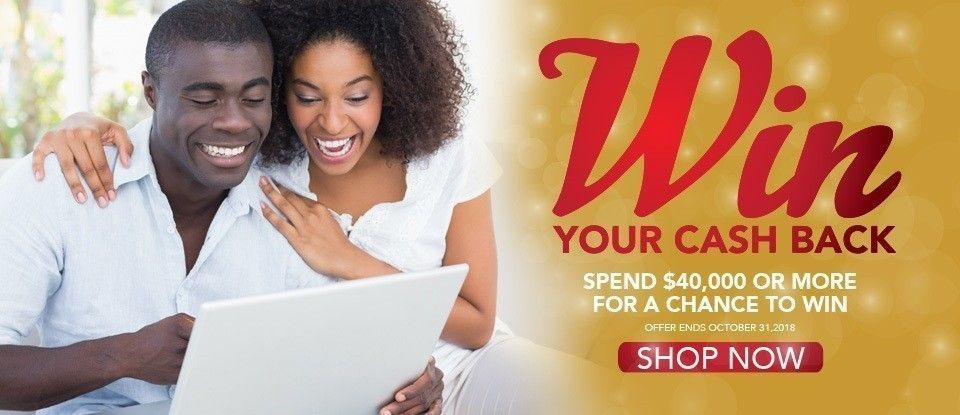 Win Your Cash Back!