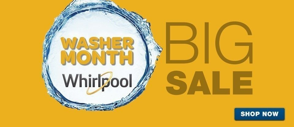 Whirlpool Washer Month