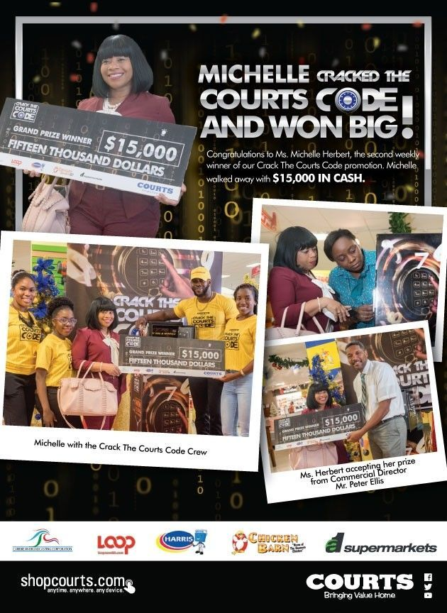 COURTS CRACK THE CODE WINNER