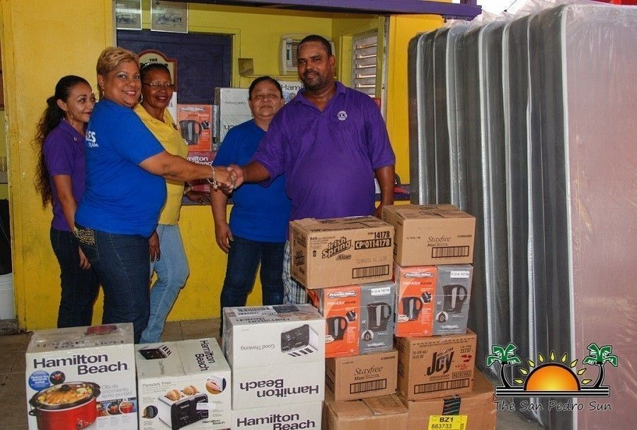 Courts Donates to the San Pedro Lion's Club 02